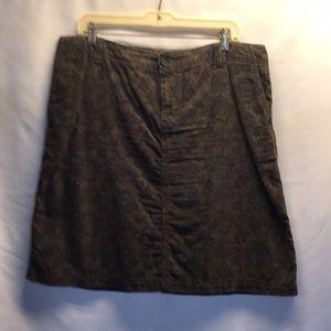 Eddie Bauer corduroy skirt